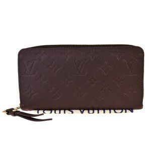 LOUIS VUITTON Bifold Zippy Wallet Monogram Emprein